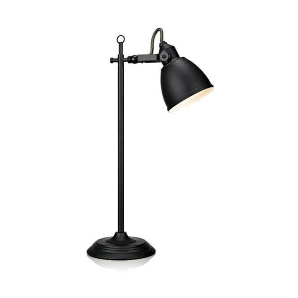 Čierna stolová lampa Markslöjd Fjallbacka