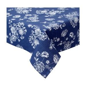 Bavlnený modrý obrus Clayre & Eef Azuelo, 100 x 100 cm