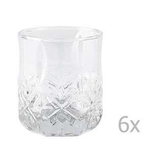 Sada 6ks pohárov Galzone Glass, 300 ml