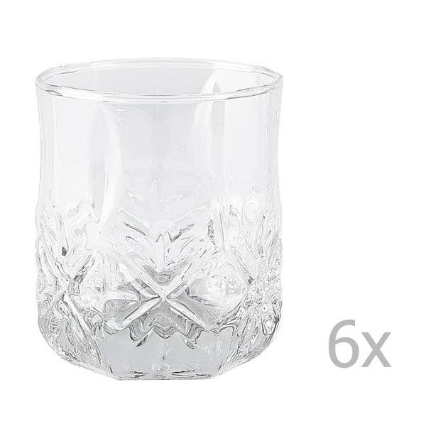 Sada 6 pohárov KJ Collection Glass, 300ml