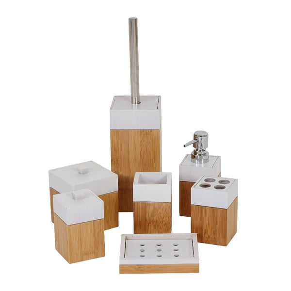 Kúpeľňový set Milan Bamboo (7 ks)