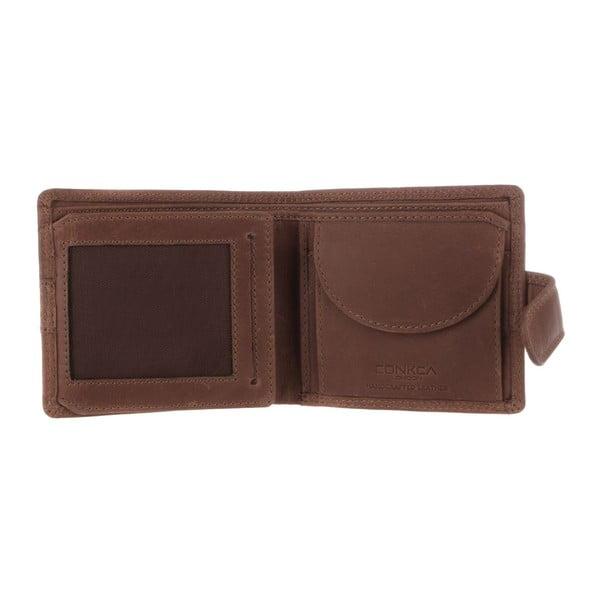 Kožená peňaženka Oscar Vintage Brown