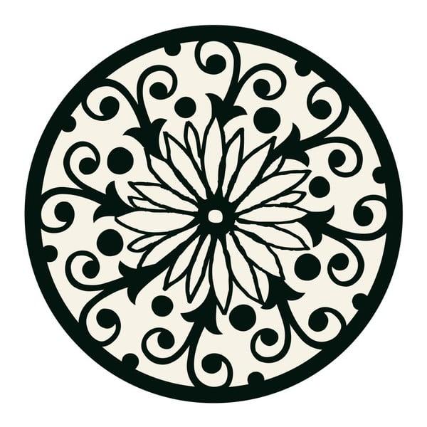 Samolepky Mandala Black/White