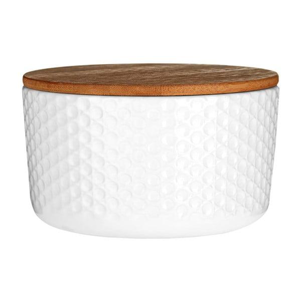 Biela dóza Premier Housewares White Mod, ⌀14 cm