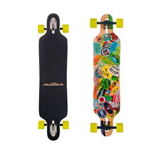 Longboard Miller Travel Stickers, 38""