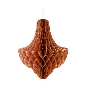 Papierová dekorácia Giant Honeycomb Bronze XL