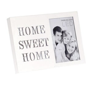 Svietiaci fotorámček Home Sweet Home
