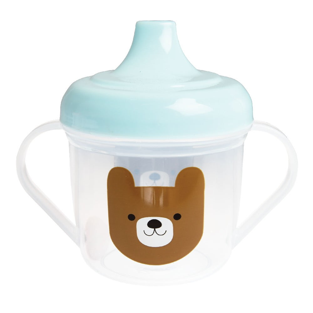Detská fľaštička na pitie Rex London Bruno The Bear, 190 ml