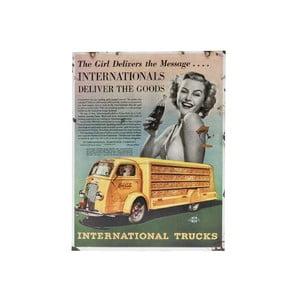 Ceduľa na stenu Novita Intern Trucks