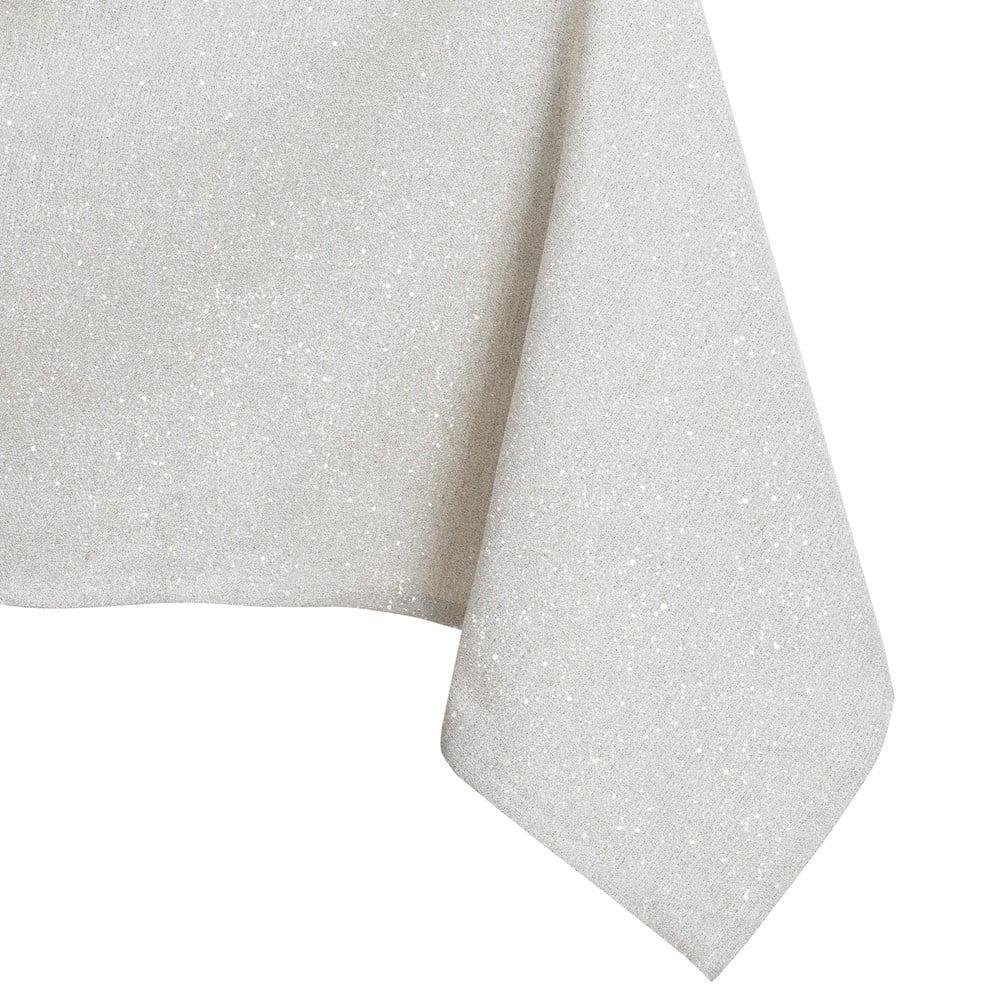Krémový obrus DecoKing Sparkle Cream, 140 × 200 cm