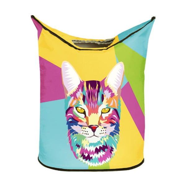 Kôš na bielizeň Pop Art Cat