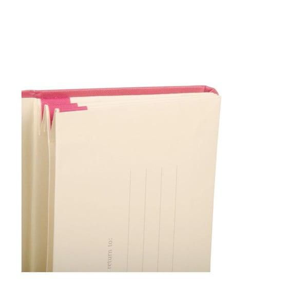 Ružové portfólio Moleskine XS