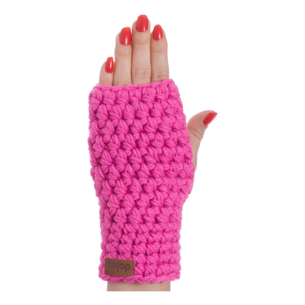 Ružové ručne háčkované návleky DOKE Peony