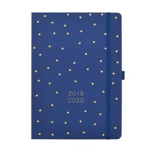 Modrý denný diár 2019/20 Busy B Diary, 432 strán