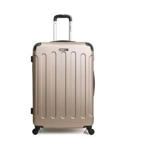 Cestovný kufor v zlatobéžovej farbe na kolieskach Bluestar, 32 l