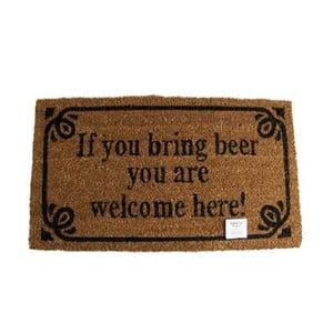Rohožka Welcome Beer, 40x70 cm