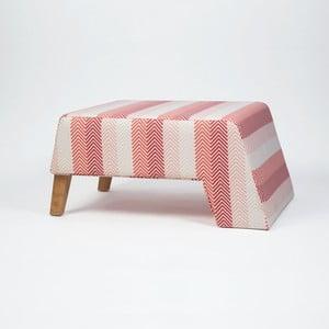 Podnožka s drevenými nohami Kate Songe