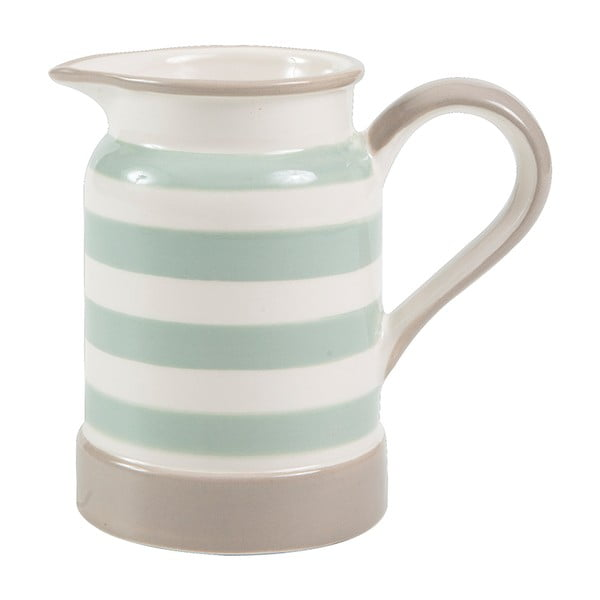 Džbán T&G Woodware Mint Stripe, 275 ml