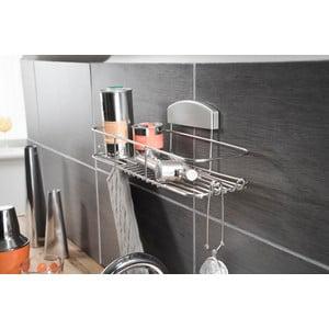 Stojan do kúpeľne bez nutnosti vŕtania Compactor Gél, 35x12 cm