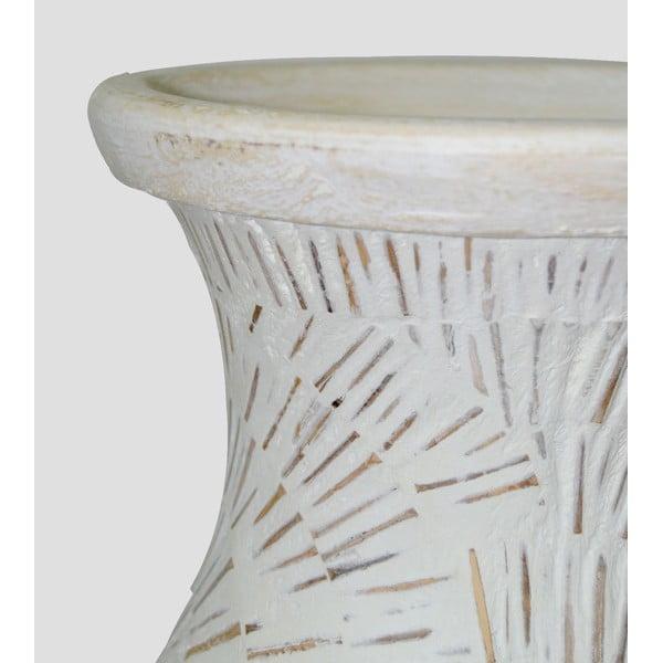 Terakotová váza Spiral, 80 cm