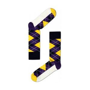 Ponožky Happy Socks Yellow and Blue, veľ. 36-40