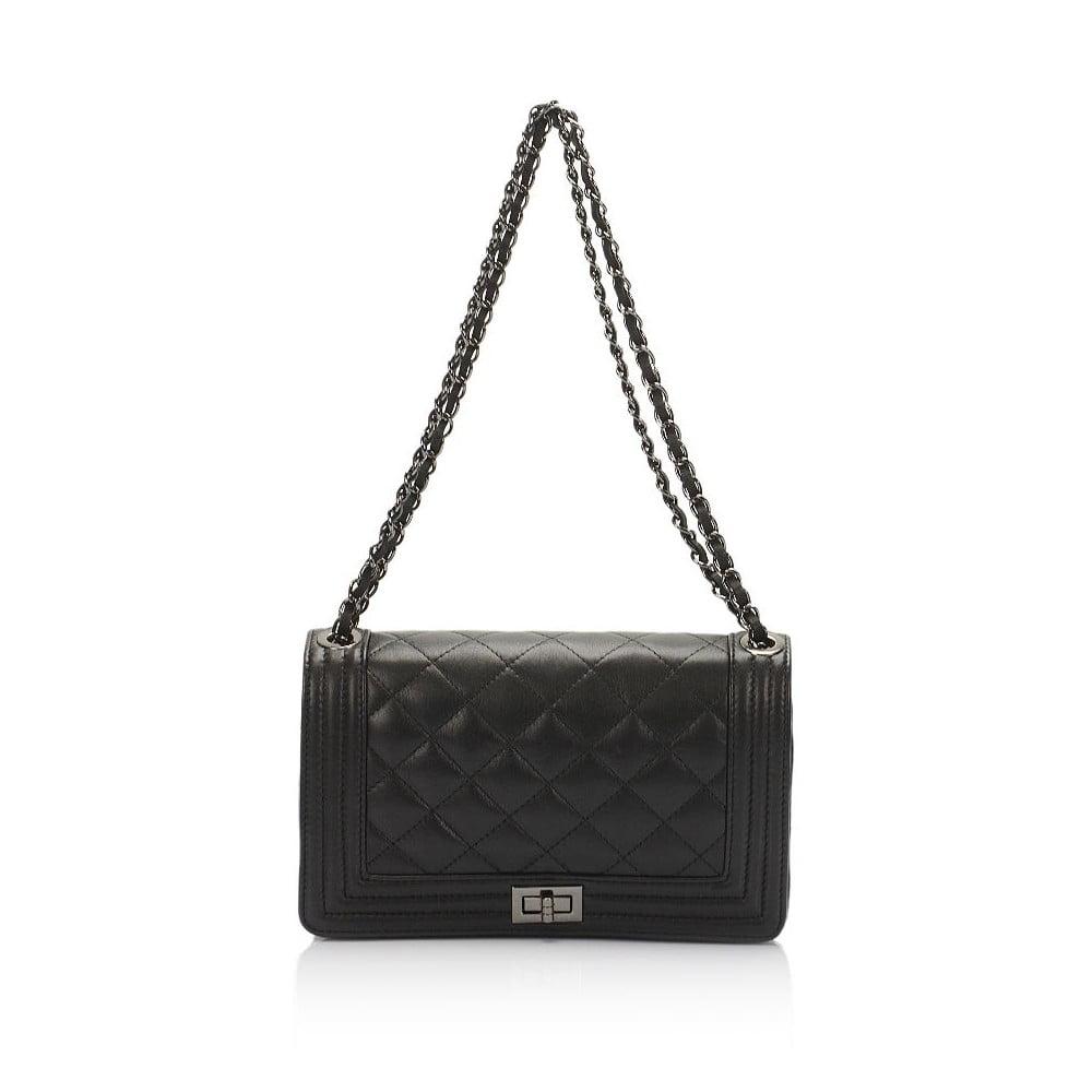 623ed35e2f Čierna kožená kabelka Lisa Minardi Silviana