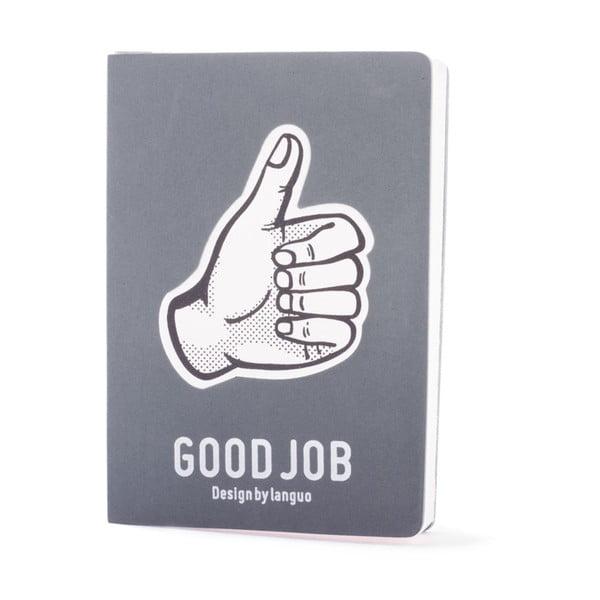 Zápisník Fingers, sivý