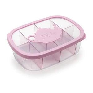 Ružová krabička na čaj Snips Tea