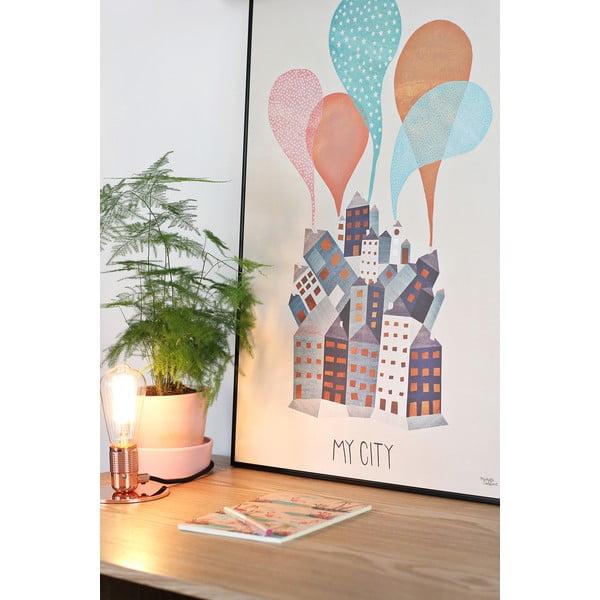 Plagát Michelle Carlslund My City, 30x40cm