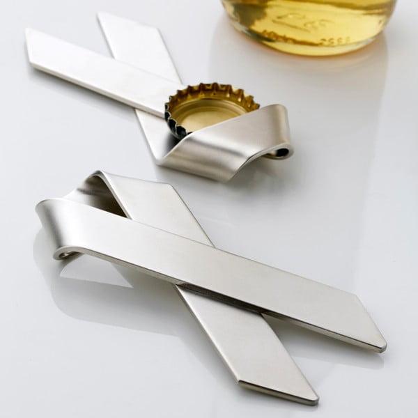 Otvárač z nehrdzavejúcej ocele Steel Function Loop Milano