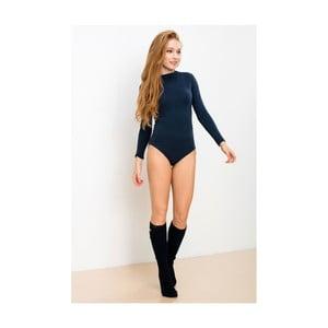 Tmavomodré body s dlhým rukávom Lull Loungewear Truly Own, veľ. L
