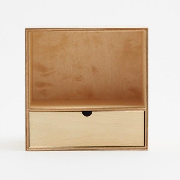 Skrinka s jednou zásuvkou Fam Fara, 50x50 cm