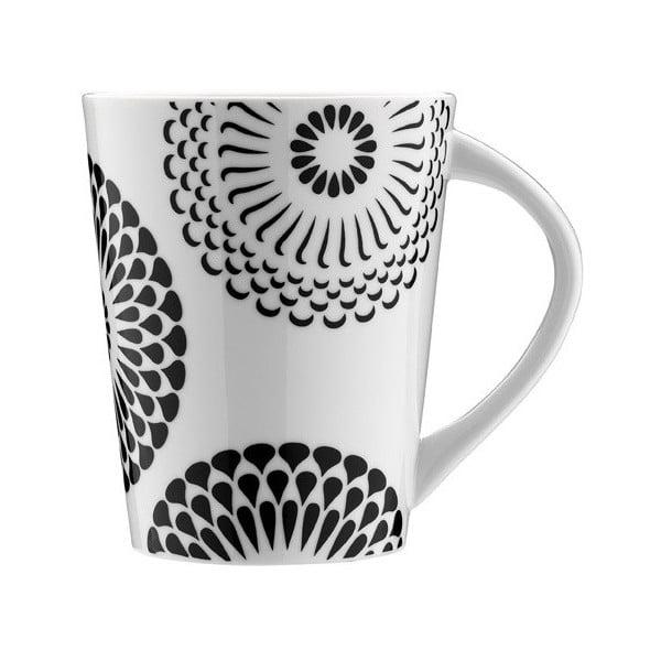 Porcelánová šálka Kvetinový ornament, 275 ml