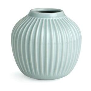 Mentolovomodrá váza Kähler Design Hammershoi, malá