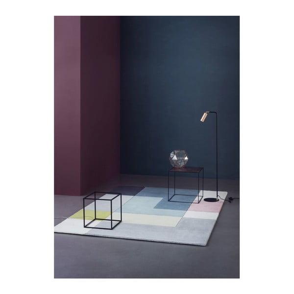 Vlnený koberec Tetris Lime, 140x200 c