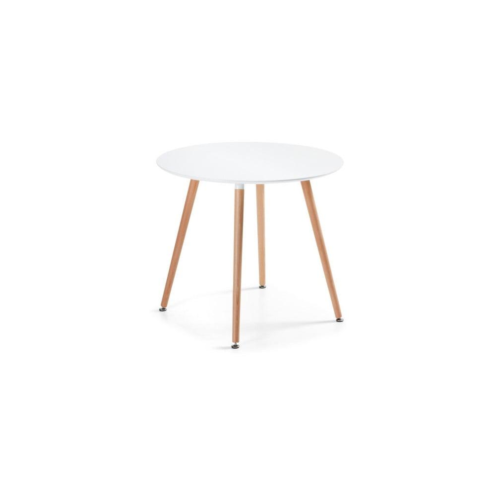 Jedálenský stôl z bukového dreva La Forma Daw, 73 × 100 cm