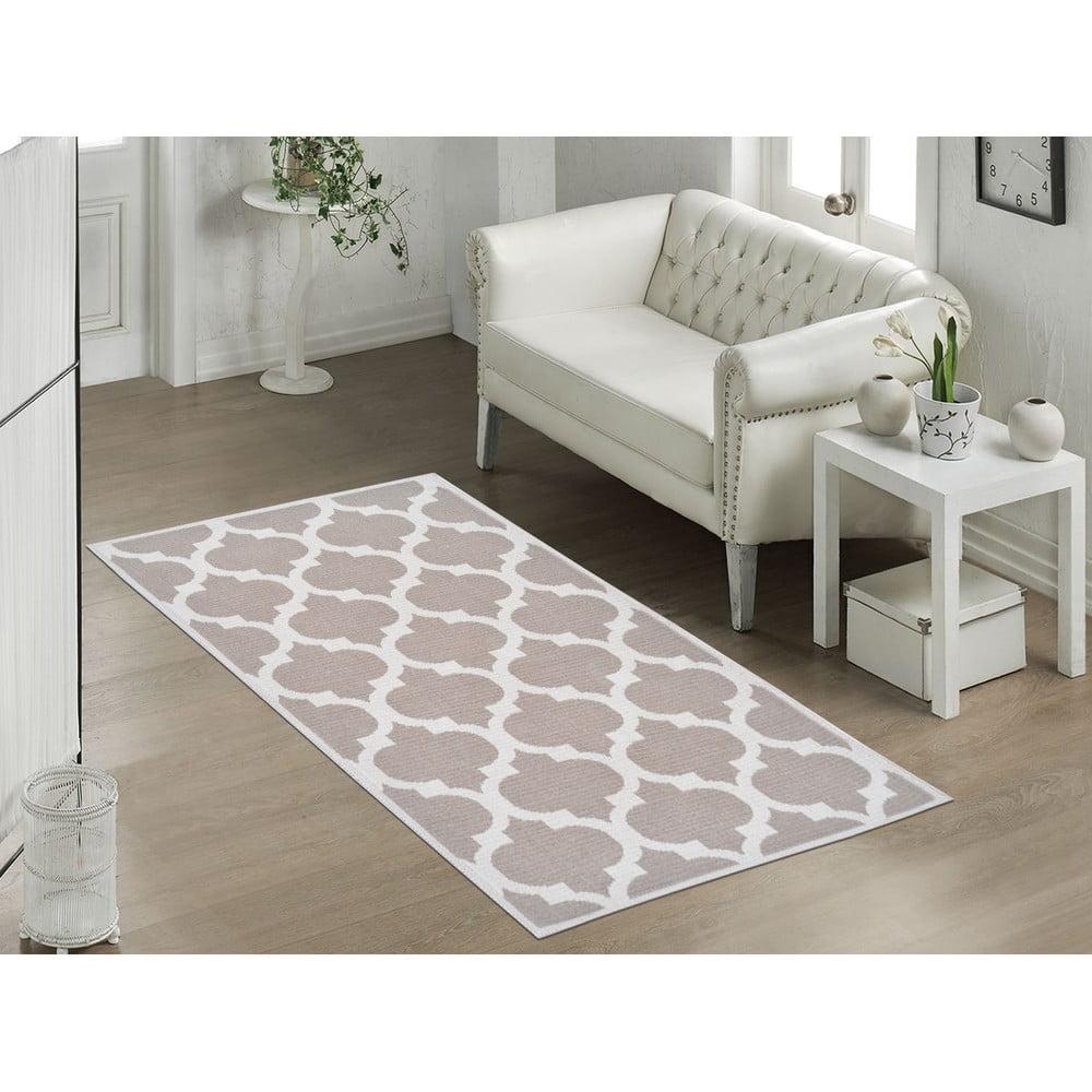 Odolný koberec Vitaus Madalyon Bej, 100 x 150 cm