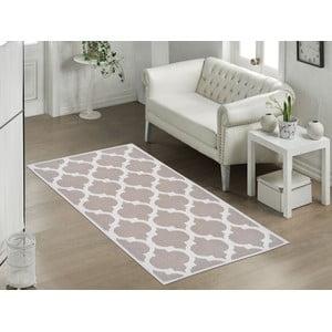 Odolný bavlnený koberec Vitaus Madalyon Bej, 60×90cm