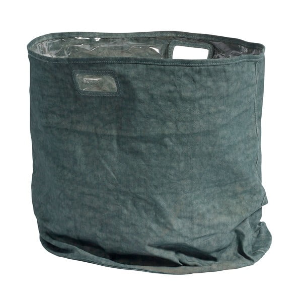 Úložný košík Canvas 50x50 cm, zelený