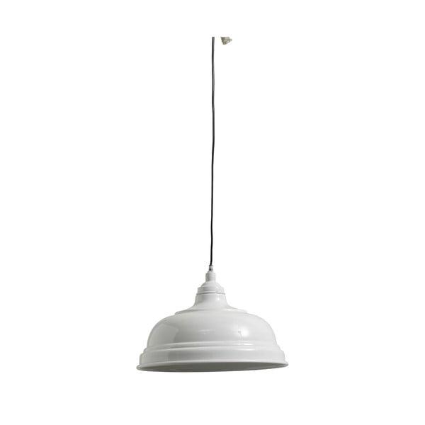 Závesné svietidlo Bell 32 cm, biele