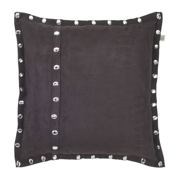 Vankúš Silene Black, 45x45 cm