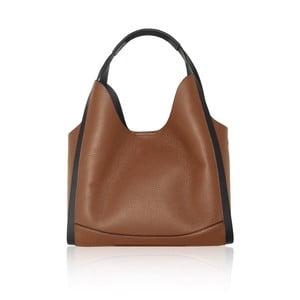 Hnedá kožená kabelka Maison Bag Giade