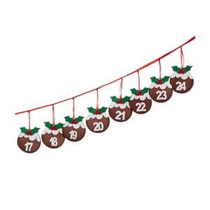 Adventná girlanda Neviti Christmas Pudding