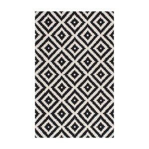 Vlnený koberec Gigos Black, 122x182 cm