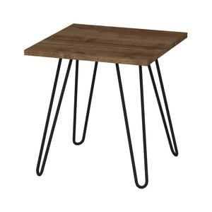 Odkladací stolík v dekóre orechového dreva Helen