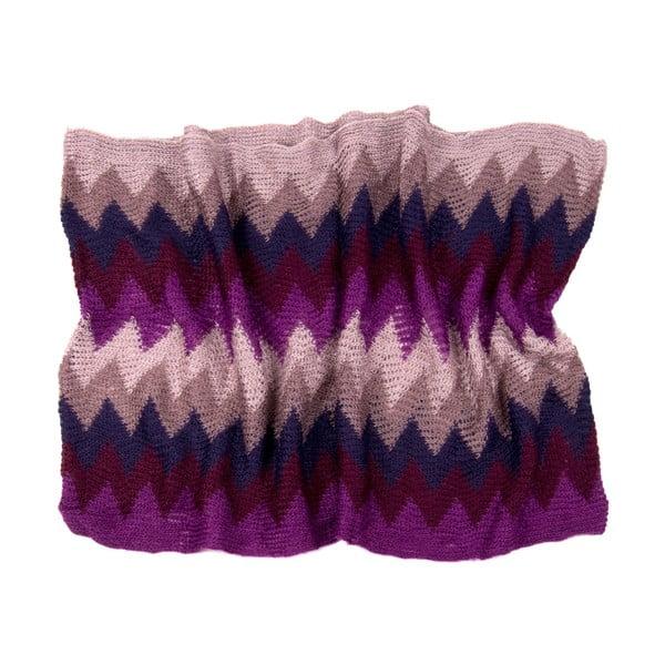 Kruhový šál Multi Purple