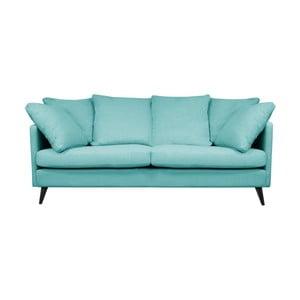 Modrá trojmiestna pohovka Helga Interiors Victoria