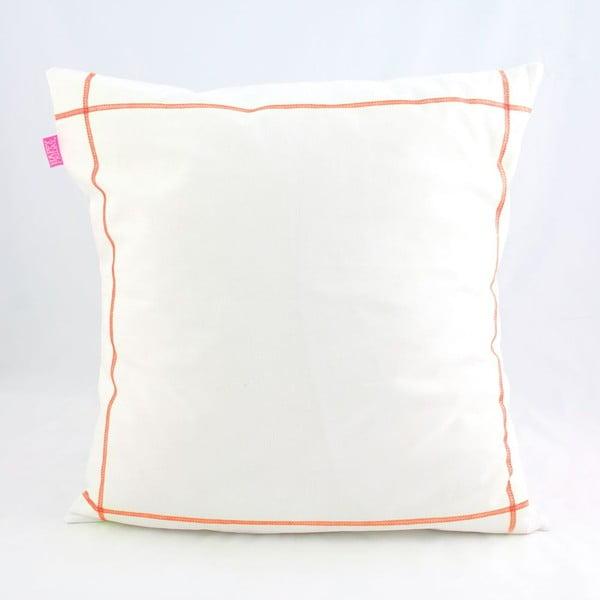 Obliečka na vankúš Basic Fluor orange, 50 x 50 cm