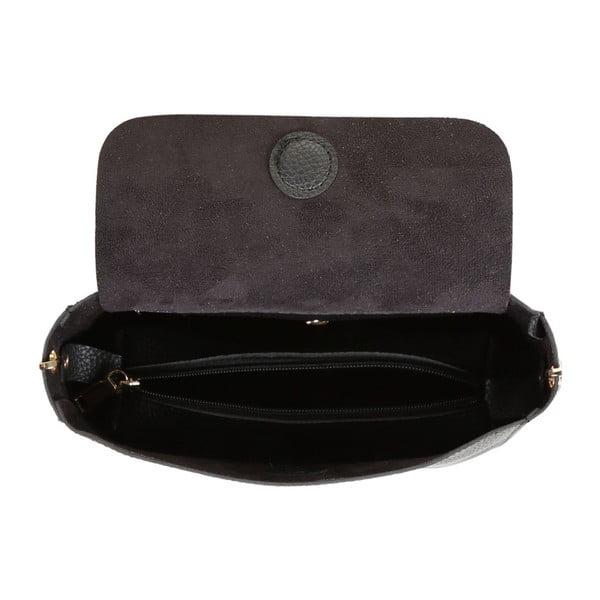 Čierna kabelka z eko kože Beverly Hills Polo Club Georgina
