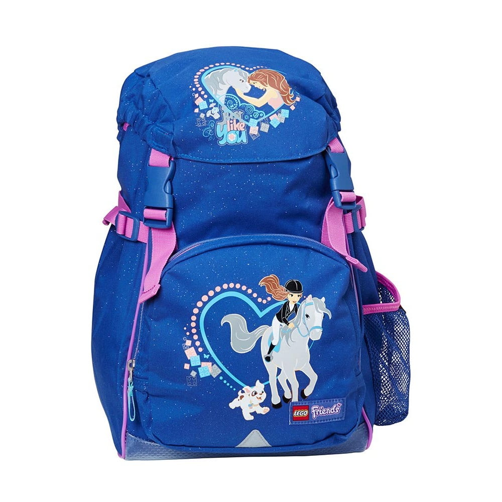 Modrý detský batoh LEGO® Friends Horse Norwegian